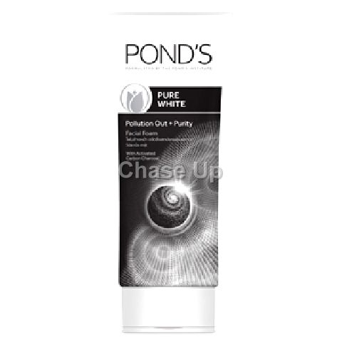 Ponds Pure White Pollution Out Purity Facial Foam 100gm